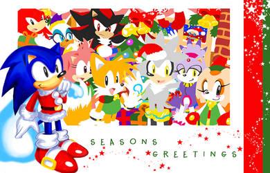 Sonic Classic X-Mas Special 06 by darkspeeds