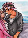 Lovin By The Sea by calicokatt