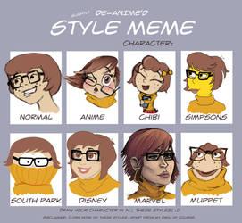 Style Meme: Velma by ShylaBlu