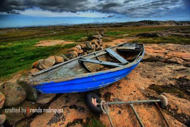 Old Broken Boat by dolps