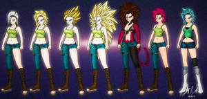 The Many Forms of Hakiza by timz115