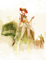 Redhead by AmeliaVidal