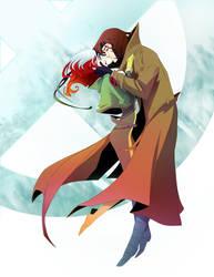 Rogue and Gambit by AmeliaVidal