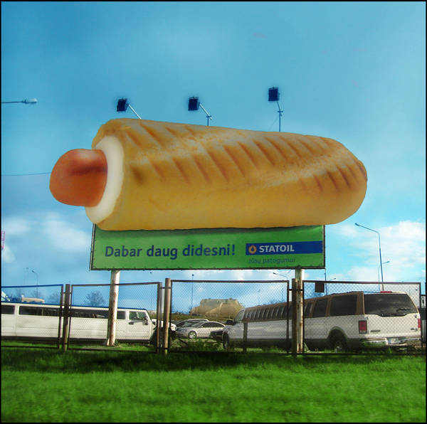 Hot dog by Effendacious