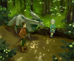 Iselia Forest by gavi-gavi