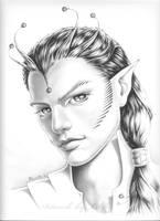 male alien by Libfly
