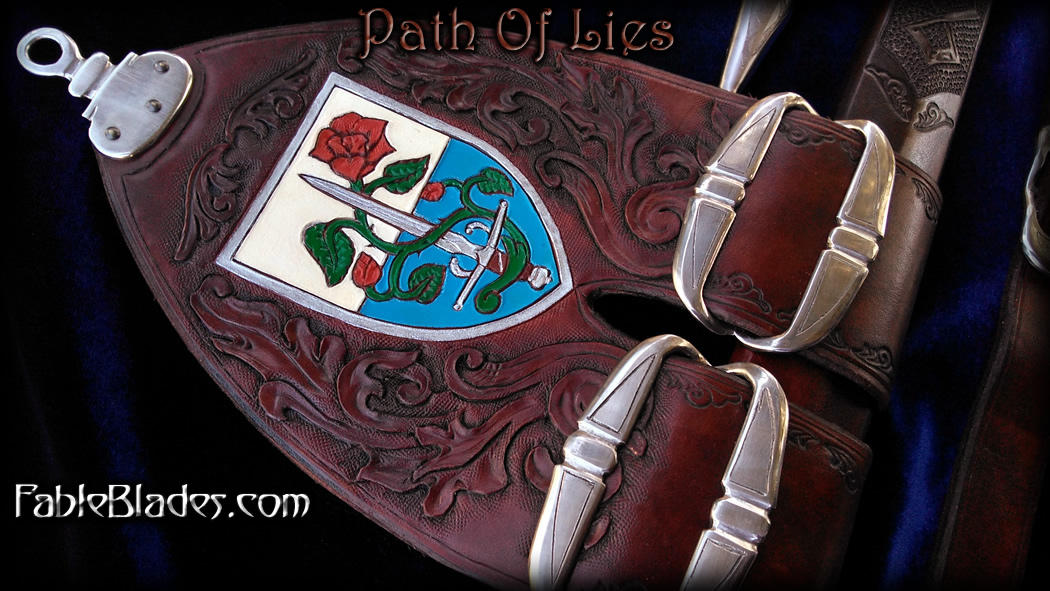 Path Of Lies by Fable Blades 3 - Rapier Hanger by Fableblades