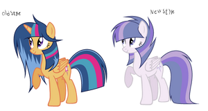 MLP Silver Sentry's New Style by GalaxySwirlsYT