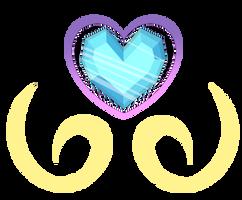 MLP Flurry Heart's Cutie Mark by GalaxySwirlsYT