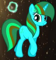MLP Star Sparkle My Frist OC by GalaxySwirlsYT