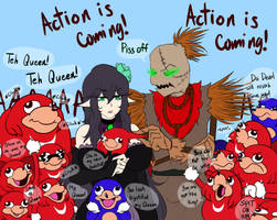 uganda knuckles gang by raikaaa on deviantart