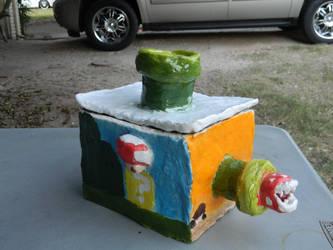 Mario Ceramic Box by luiginotafraid