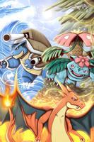Mega Evolutions by LikelyLupine