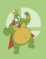 King K. Rool Comes Aboard! by the-fire-prince