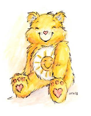 Funshine Bear by LizChwan