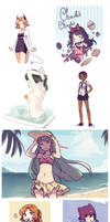 Sketchdump 12 by Meli-Lusion