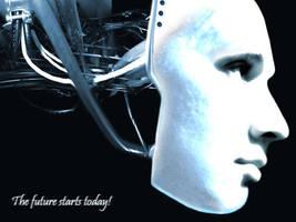 Robot by Markynhuz