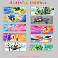 Ecstatic Tagwall by Ecstatic-ectsy