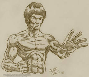 BRUCE LEE 2 by alexpal