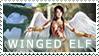 Stamp_Winged Elf ::PW:: by RosinAngel