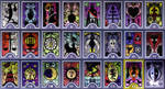 Persona Arcana Cards - Highres by Serafiend