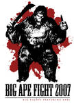Big Ape Fight 2007 T Design by Amano-G