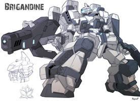 Brigandine by haganef