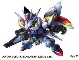 Gundam Legilis by haganef