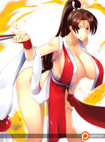 Mai Shiranui by haganef
