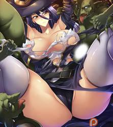 Witch (Goblin Slayer) by haganef