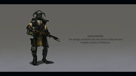 Fallout Dragonborn by ruoyuart