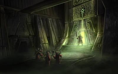 Warhammer 40k - Sixty Million Years Later by ruoyuart