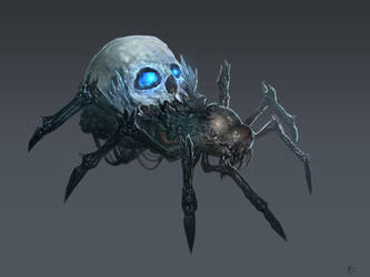 Horrid Spider Redesign by ruoyuart
