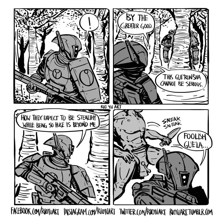 A note on how Space Marines manage to be stealthy by ruoyuart