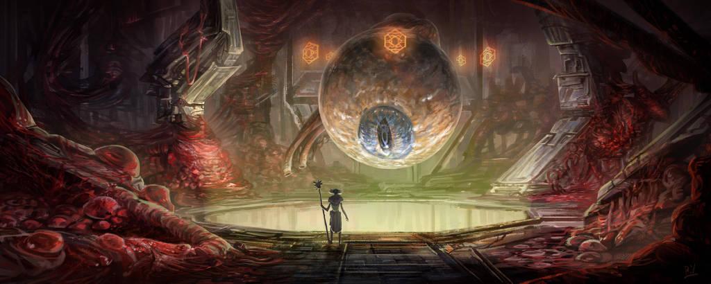 The Gazing Chamber by ruoyuart