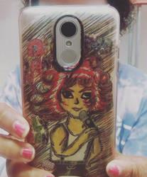 i made danny elfman art on my phone by CutemayStrikesAgain