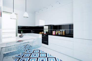 3ds Kitchen by W-Art3D