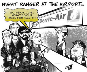 Night Ranger at the Airport by livefunknouveau