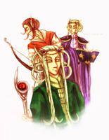 Elven Representatives by neshirys
