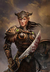 Dragon Knight by ekoputeh