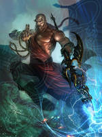 Monk Warrior by ekoputeh