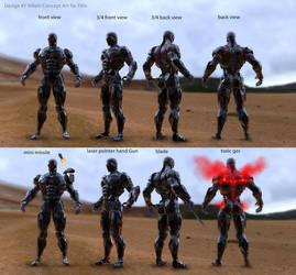 Villain Androids#1 by ekoputeh