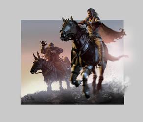 Gladiator  N Dwarf Ride by ekoputeh