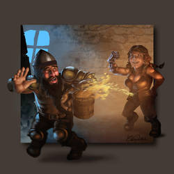 Dwarf by ekoputeh