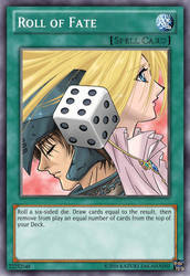Roll of Fate - Custom Yugioh card by Princess-of-Trolls
