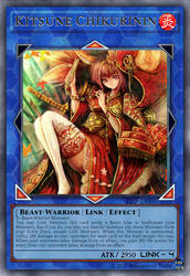 Kitsune Chikurinin - Custom Yu-Gi-Oh! Card by Princess-of-Trolls