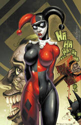 Harley Quinn - HAMMA' TIME by PatCarlucci