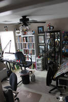 My art studio as of Oct 2009 by PatCarlucci