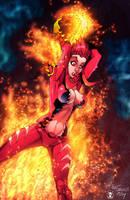 FireBrandi - commission by PatCarlucci