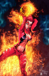 FireBrandi - commission by PatCarlucci